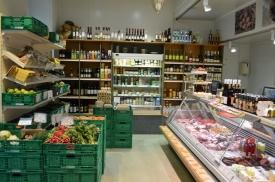 Bio-Lebensmittel am Kutschkermarkt
